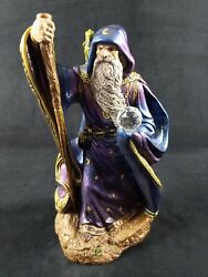 Retired Windstone Merlin Wizard With Baby Dragon