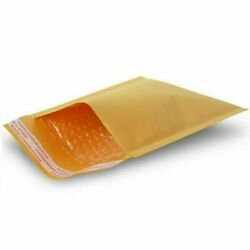 7.25x9.75 Dvd Kraft Bubble Mailers Padded Envelopes Self Seal Bags 8000 Pieces