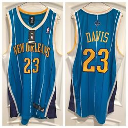 Anthony Davis New Orleans Hornets Authentic Jersey Nwt Dead-stock