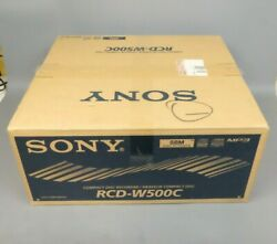 Sony Rcd-w500c Compact Disc Recorder 5 Disc Changer