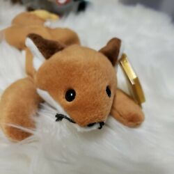 Ty Sly Fox 1996 Beanie Babies Style 4115 Retired With Errors And Pvc Pellets