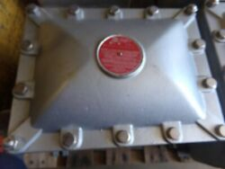 New Crouse Hinds Ejb12168 3 0a00g0g0a0g0 Explosion Proof Junction Box