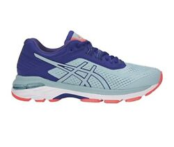 Asics Womenand039s Gt 2000 6 - Size 10.5 - Porcelain Blue Running Shoe - T855n 10-0