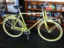 Rare Public Bike D8 8 Speed Chartreuse Bicycle