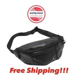 Nike Air Jordan Jumpman Regal Air Black Crossbody Fanny Pack Shoulder Waist Bag $32.95