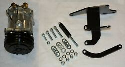 A/c Compressor And Chevy Short Water Pump Passenger Side Top Mount Bracket Sbc Swp