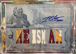 Robert Griffin Iii 2012 Topps White Whale 1/1 Heisman Rookie Autograph