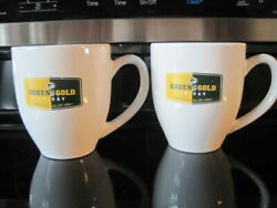 Nfl Green Bay Packers Set Of 2 Coffee Mugs Green And Gold Friday Heavy Weight