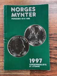 Norges Mynter Norway's Coins 1814-1996 Value Guide Bandw 96pp 4x6 27th Ed 1997