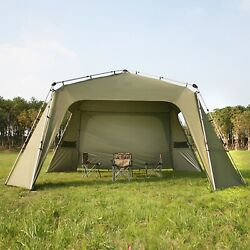 No Need To Set Up Quick Open Camping Aluminum Alloy Pole Canopy Tent