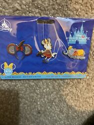 Disney Minnie Mouse Main Attraction Pins Dumbo 8/12 August In Hand