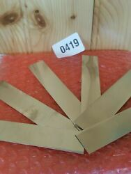 .006 Stainless Steel Shim Stock .006 X 4.5 X 3/4+- Wide 006 0.006