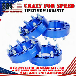 4pcs 2'' 8x6.5'' 8 Lug Wheel Spacer Adapters For Chevy C/k 2500/3500 Gmc Nissan