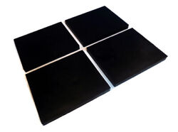 Pack Of 4 Pro-wing Pw22 Rubber Edges For Maxim 410128 Snowplow Blade Extension