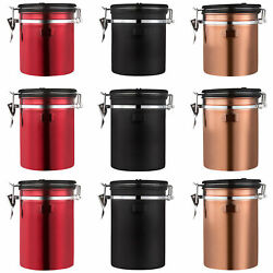 Sealed Coffee Can Food Grade Storage Jars Kitchen Airtight Canister With Lid New