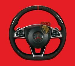 Mercedes E63 E53 W213 Carbon Amg Steering Wheel Made In Germany