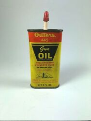 Vintage Outers 445 Handy Oiler Gun Hunting Firearms Oil Can Empty Display Only