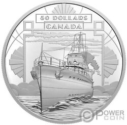 Coming Of Age First 100 Years Of Confederation Boat Silver Coin 50 Canada 2021