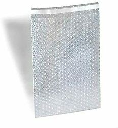 8 X 11.5bubble Out Bag 1 Lip N Tape Seal Self-seal Clear Pouch 4200 Pack