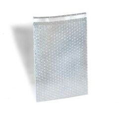 6 X 8.5 Bubble Out Bag 1 Lip N Tape Seal Self-seal Clear Pouch 2600 Pack