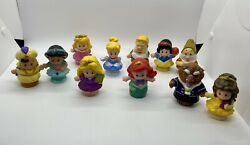 Fisher Price Little People And Disney Princess Figure Pack + Extras Aladdin Beast