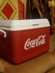 Awesome Rare Rubbermaid Coca Cola Cooler Ice Chest Usa Made Excellent