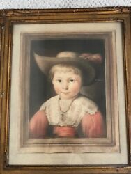 🔥 Antique Dutch Old Master Etching Painting - Pieter Soutman Signed