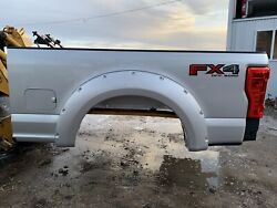 Silver 17-21 Ford Superduty 6.5andrsquo Box Super Duty F350 F250 Short Bed W Bedliner