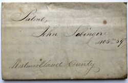 Pa Westmoreland County / 1814 Document Of Sale Of Land In Mount Pleasant