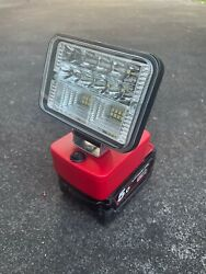 Custom Made Milwaukee 18v Led Light 2nd Gen Wide Beam Low Voltage Protection