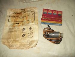 Nos Mopar Automatic Cigarette Lighter Pn 1450026 1940and039s Andearly 1950and039s Mopar Cars
