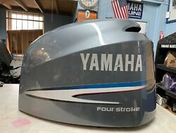 Yamaha Four Stroke 225 Hp Top Cowling/ Fits F200-f225 3.3l. 02and039 -10and039- Stk 9224