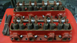 1958 Ford 352 Machined Combustion Heads With Adjustable Rockers And Push Rods