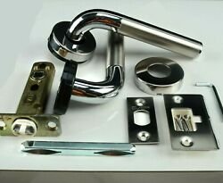 Yacht Door Handle Knob Marine Chrome And Brushed Stainless Boat Ocean Alexander