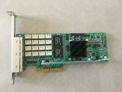 1 Pc Used Silicom Pe2g4bpi35l I350-t4 Bypass Function