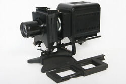 Bausch And Lomb Lantern Slide Projector Type Bdt Balopticon 12 Inch Lens Bandl