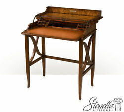 L50965 Theodore Alexander Campaign Style Writing Desk Model 7105-239 New