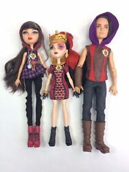 Ever After High Tri Castle On 3 Doll Pack Hunter Cerise Lizzie Incomplete Lot