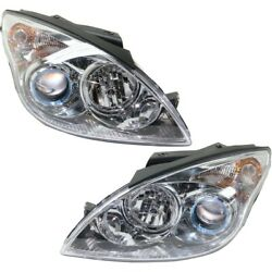Headlights Lamps Set Of 2 Left-and-right 921022l152, 921012l152 Lh And Rh Pair
