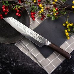 Japanese Kitchen Chef Knife Forged Cleaver Meat Chopper Stainless Steel 9 Inch