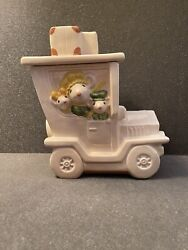 Vintage Poppytrail By Metlox Mouse Car Cookie Jar Excellent Condition