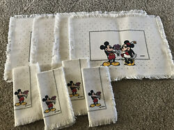 Disney Mickey Minnie Mouse Place Mates You're Something Special And Napkins