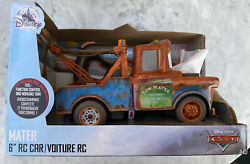 Disney / Pixar Cars Cars 3 Tow Mater 6-inch R/c Car Collectible Toy