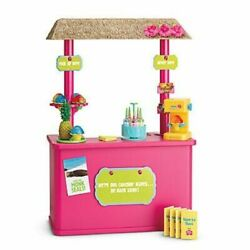 American Girl 18 Doll Kanani's Shave Ice Stand Complete With Box Euc