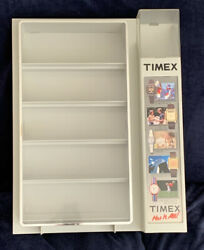 """Timex Watch Vintage Counter Top Store Display Case 22.5x17.25x4.25"""""""