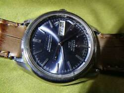 King Seiko Day Date 5626-7040 Chronometer Vintage Watch 1970and039s Overhauled