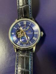Orient Star Rk-am0006l Mechanical Moon Phase Ss Automatic Blue Dial