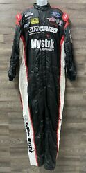 248 Nascar 1 Pc Team Issued Race Used Fire Suit Sfi 3.4/5