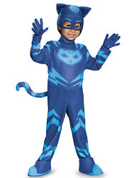Catboy Deluxe Toddler Pj Masks Costume Small/2t