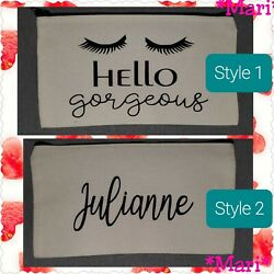 Personalized Cosmetic Bag Multi Purpose Bag. 2 different options available. $5.00